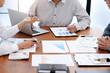 business audit discussing data document