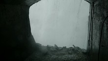 Under Niagara Falls In Tunnel ...