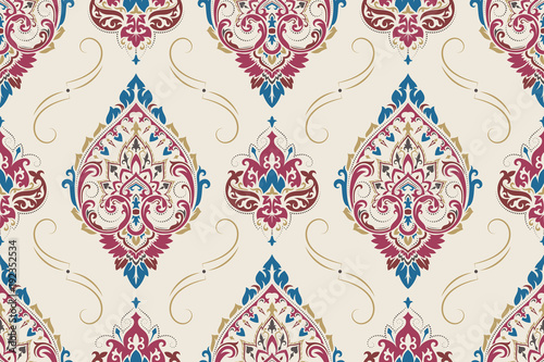 Fototapeta orientalna   seamless-paisley-pattern