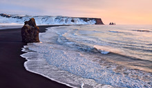 Famous Black Sand Beach At Rey...