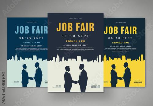 job fair flyer buy this stock template and explore similar