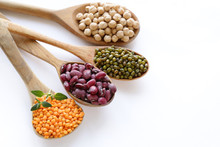 Various Kinds Of Legumes - Bea...