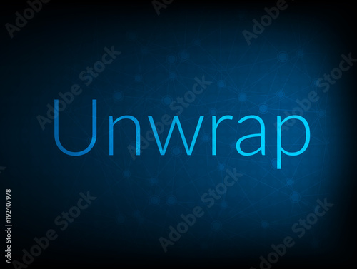 Fotografia, Obraz  Unwrap abstract Technology Backgound