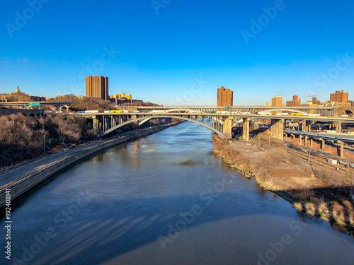 Fotomural Alexander Hamilton Bridge - New York City