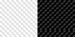 seamless pattern in Royal style on a checkerboard background in light and dark version