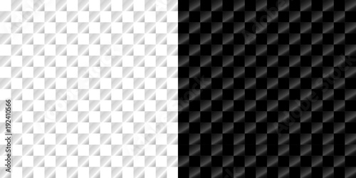 Fototapety, obrazy: seamless pattern in Royal style on a checkerboard background in light and dark version