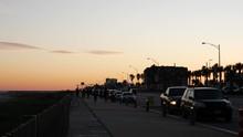 Galveston Beach Ocean Coast At...