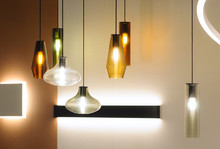 Modern Style Lamps In Interior...