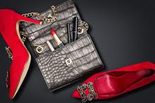 Luxury Woman Accessories. Hand...