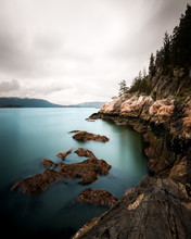 The Rugged Coast Of The Pacific Northwest