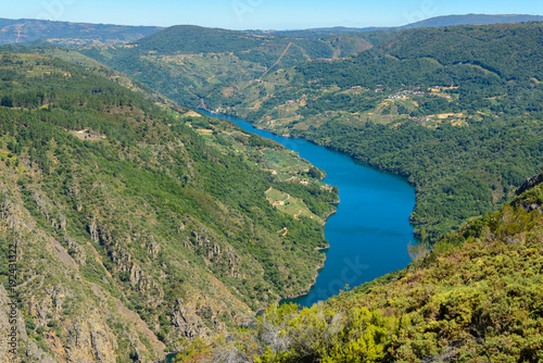 Poster Canyon Sil Canyon, Orense, Spain