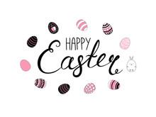 Hand Written Happy Easter Lett...