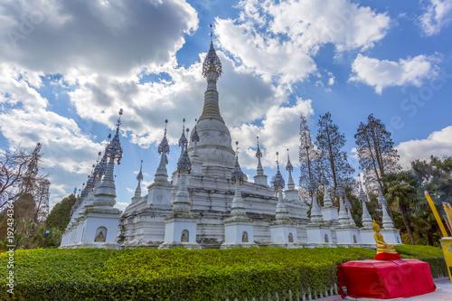 Foto  Südostasien Weißer Turm