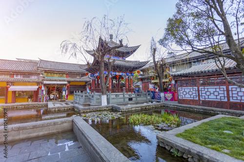 Foto op Aluminium Guilin Ancient city of Dali in Yunnan