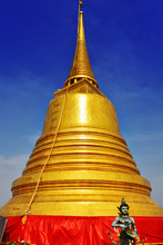 Wat Saket Golden Mount In Bang...