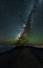 Milky Way Shining Behind The O...