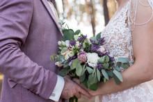 Wedding. The Girl In A Beige D...