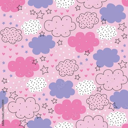 bezszwowe-chmury-gwiazd-wzor-ilustracji-wektorowych