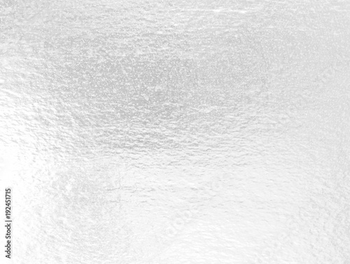 Fotografía  Shiny leaf silver foil pape