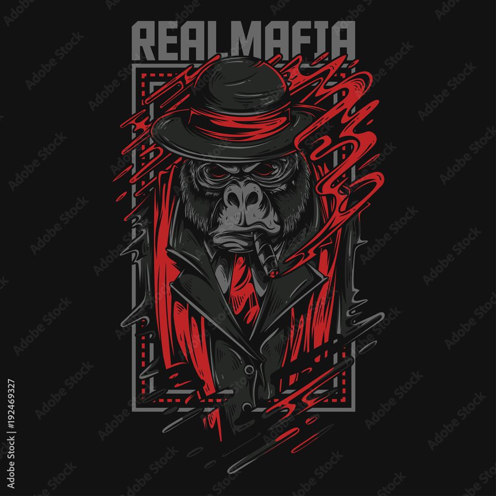 Fototapeta Real Mafia