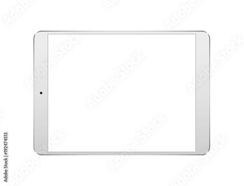 Fotografia  Tablet pc. Vector illustration