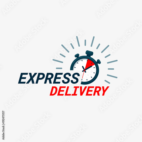 Photo Express delivery icon