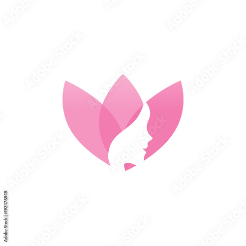 spa aesthetic logo design template vector buy this stock vector