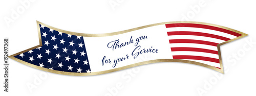 Photo Veterans Service Banner