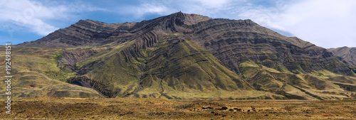 Papel de parede Argentina Patagonia geological fold