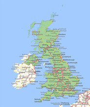 United Kingdom-World-Countries-VectorMap-A