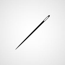Sewing Needle. Icon