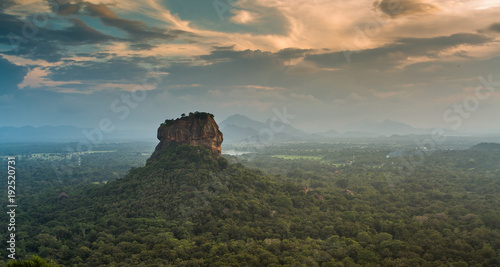 Sigiriya Lion Rock fortress Wallpaper Mural