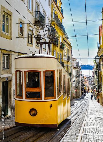 Photo  Lissabon – Standseilbahn Ascensor da Bica