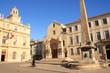 Place de la république à Arles, ville d'art d'histoire, France