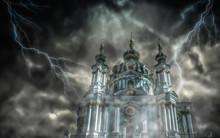 Saint Andrew's Church In Kyiv(...