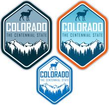 Colorado Vector Label With Big...