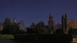 Old university at night. 4K UltraHD timelapse.