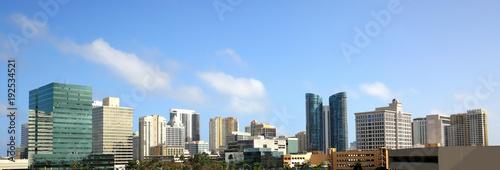Fotografija Panoramic view of downtown Fort Lauderdale, Florida, USA