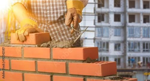 Fotografía  Bricklayer.