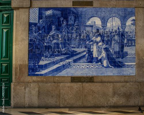 Canvas Prints Artistic monument Porto, Portugal