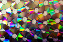Cd Collection Background. Top ...