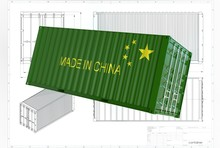 3d Illustration Of China Iso C...