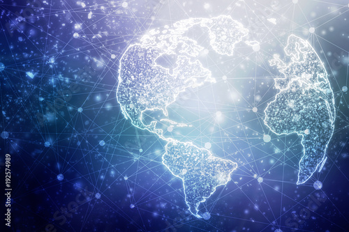 2d illustration world map abstract background buy this stock 2d illustration world map abstract background gumiabroncs Choice Image