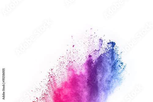 Obraz na plátně abstract powder splatted background