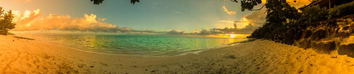 PANORAMA PLAGE DE TAHITI