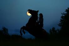 Fantasy Full Moon With Dark Si...
