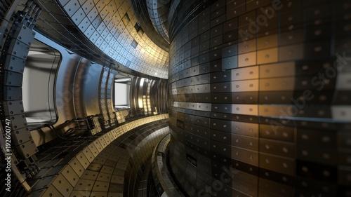 Photo  Fusion reactor Tokamak