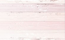 Shabby Wooden Pink Background. Vector Illustration