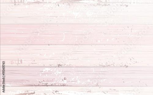 Shabby wooden pink background. Vector illustration