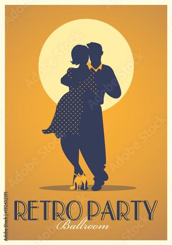 Photo Retro Party Poster